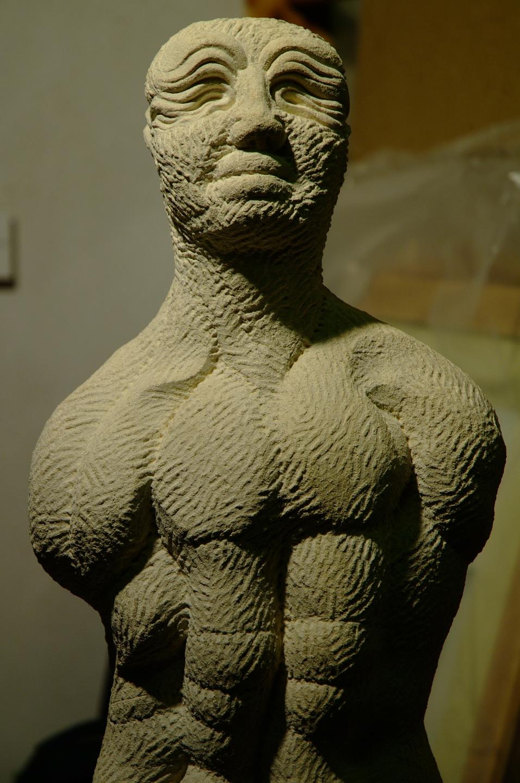 Paul B Kincaid -Sculpture - Adam Before The Fall