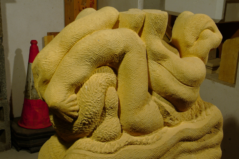 Paul B Kincaid -Sculpture - Blodeuwedd
